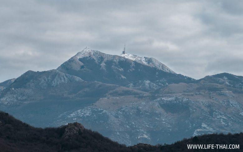 Февраль в Черногории на фото