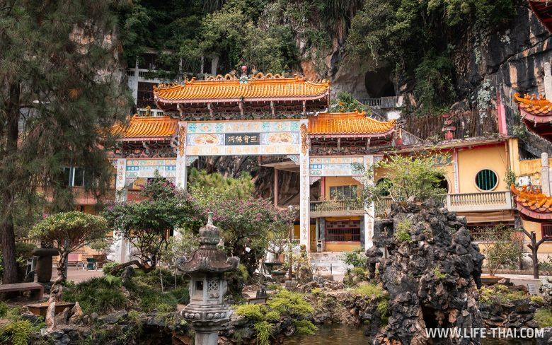 Пещерный храм Sam Poh Tong в Ипохе, Малайзия