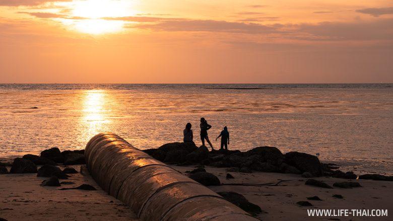 Пляжи на Лабуане