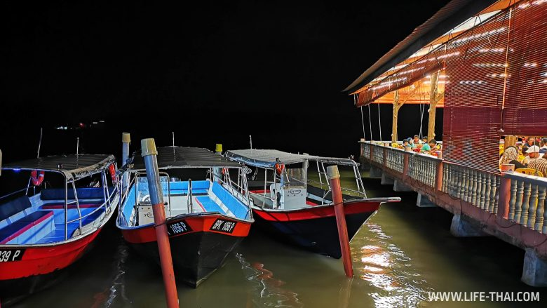 Река Селангор и светлячки в Малайзии