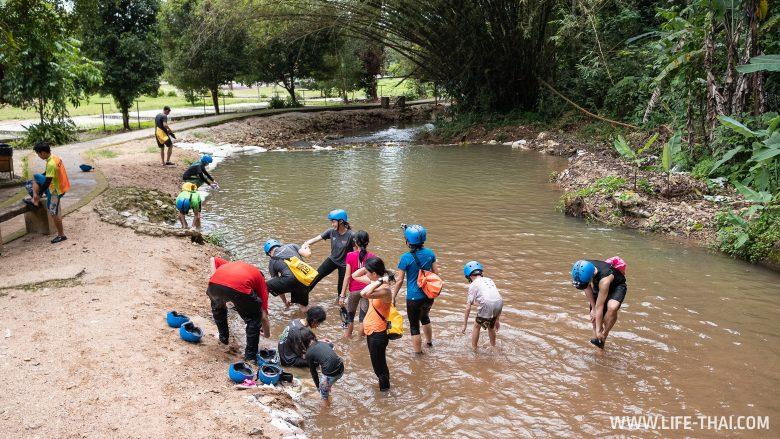 Мокрый маршрут по пещере Гуа Темпуронг в Малайзии