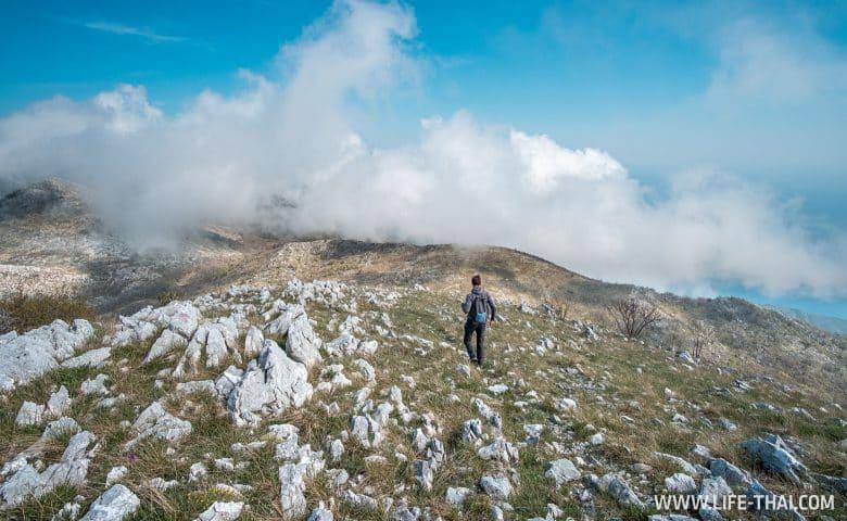 Самостоятельный поход на гору Velij Kosmach в Черногории
