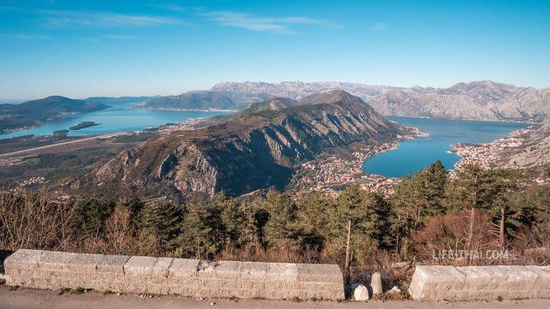 Как выглядит хребет Врмац в Черногории