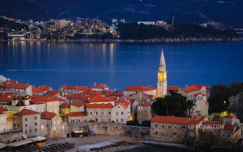 Обзор курортов Черногории у моря - Будва