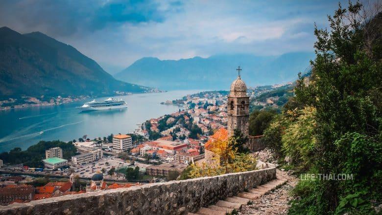 Котор - популярный город у моря для отдыха в Черногории