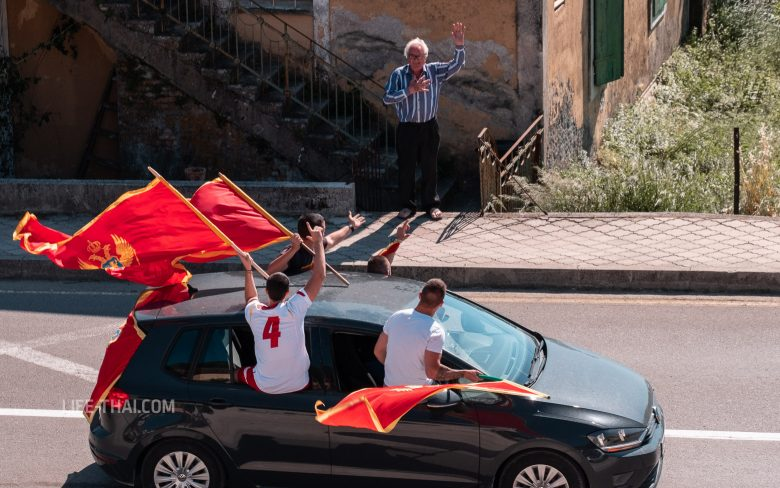 День независимости Черногории на фото