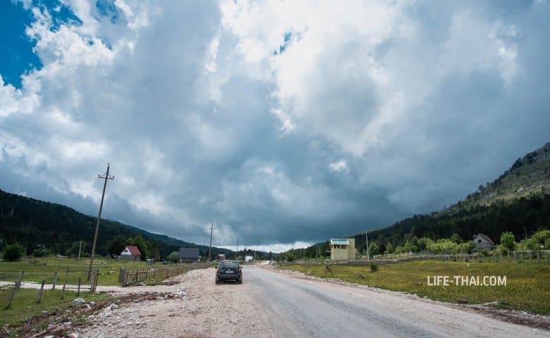 Как выглядит дорога в Грло Соколово