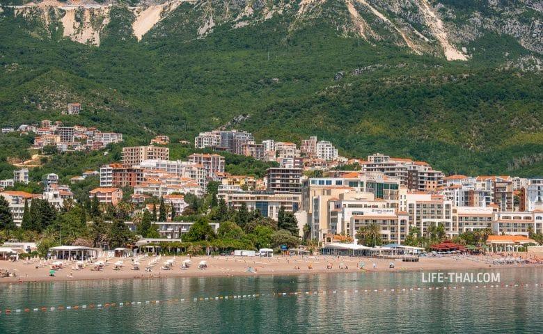 Отдых в курорте Бечичи, Черногория