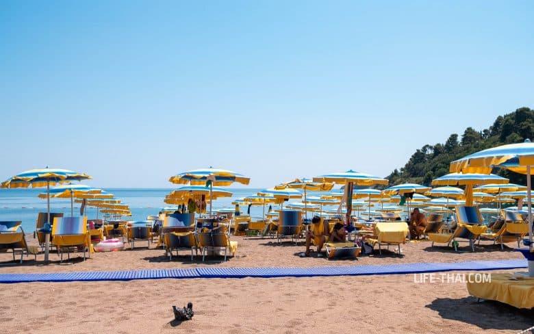 Отзыв об отдыхе на пляже Бечичи в Черногории