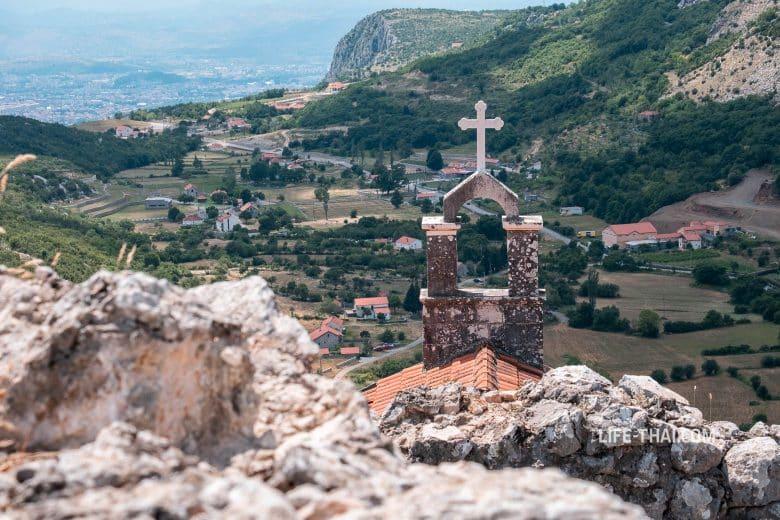 Город Медун в Черногории