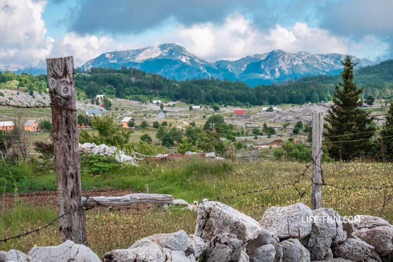 Плоскогорье Кучка Корыта (Kucka Korita) в Черногории