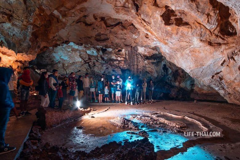 Экскурсия по Липской пещере