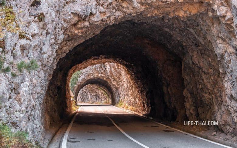 Какие дороги в Черногории