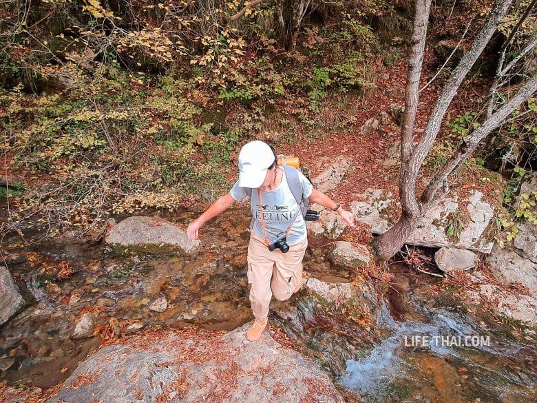 Поход в каньон реки Мртвица в Черногории