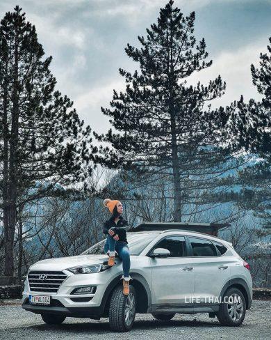 Какую машину взять для поездки на север Черногории зимой