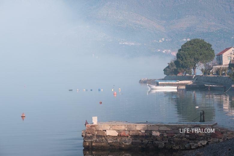 Туман в Доньей Ластве, Черногория
