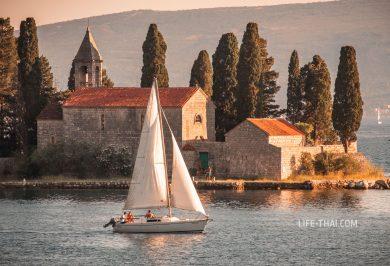 Прогулка на яхте в Черногории на 1 день
