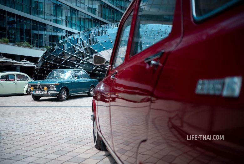 Выставка ретро-машин в Подгорице, Черногория