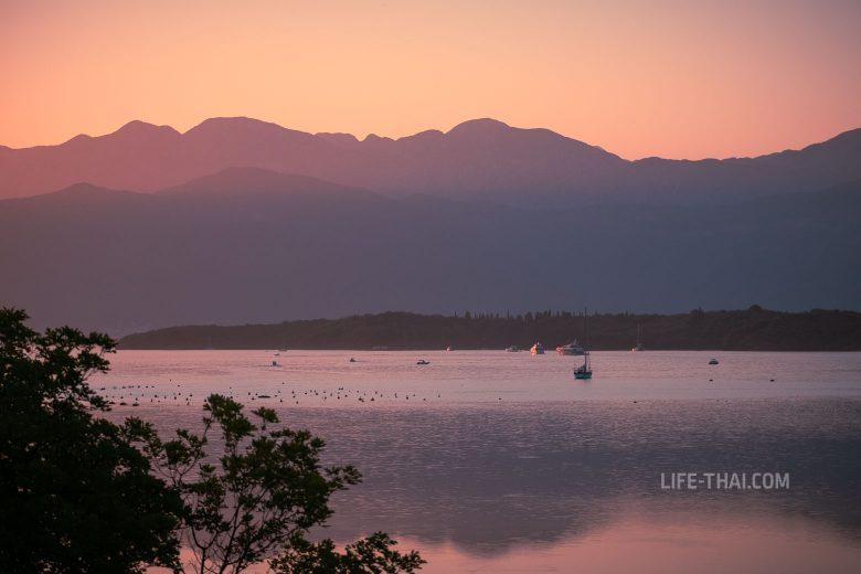 Летние закаты в Черногории