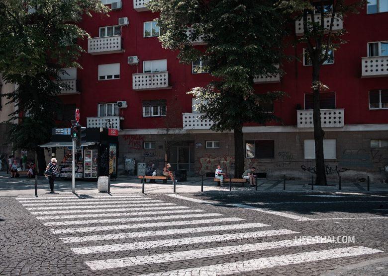 Улицы Белграда на фото - путеводитель по столице Сербии
