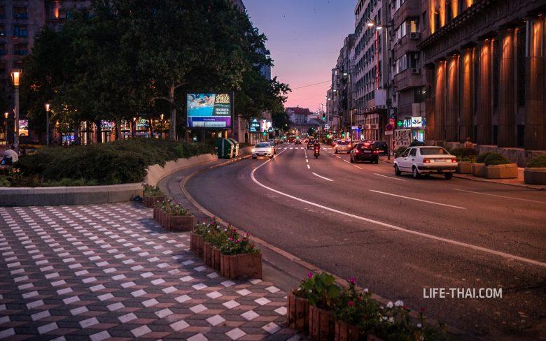 Движение в Белграде